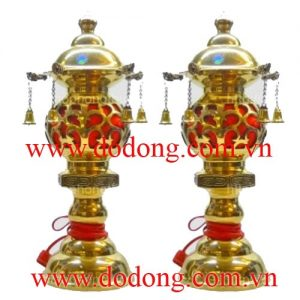 đèn thờ bằng đồng